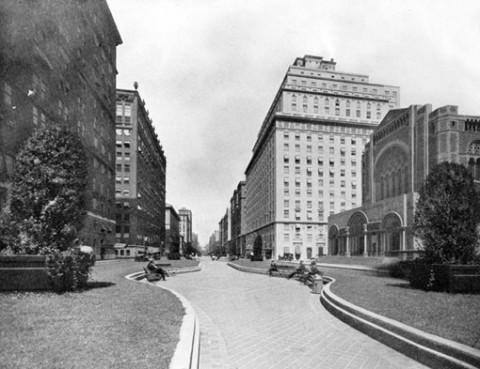 Park Avenue median pre-1922