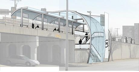 Oklahoma City Santa Fe Station Concept