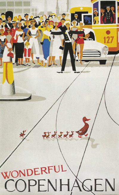 Copenhagen Duck Poster