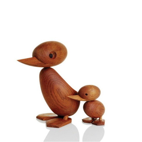 Hans Bolling duck and duckling